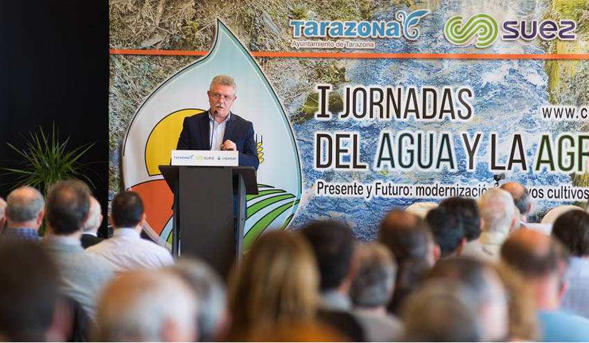 SUEZ comparte las claves de la agricultura moderna en las primeras Jornadas del Agua y la Agricultura