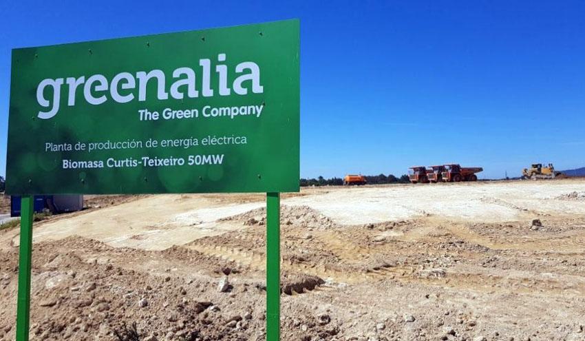 ACCIONA Industrial e IMASA construirán y mantendrán la planta de biomasa de Greenalia
