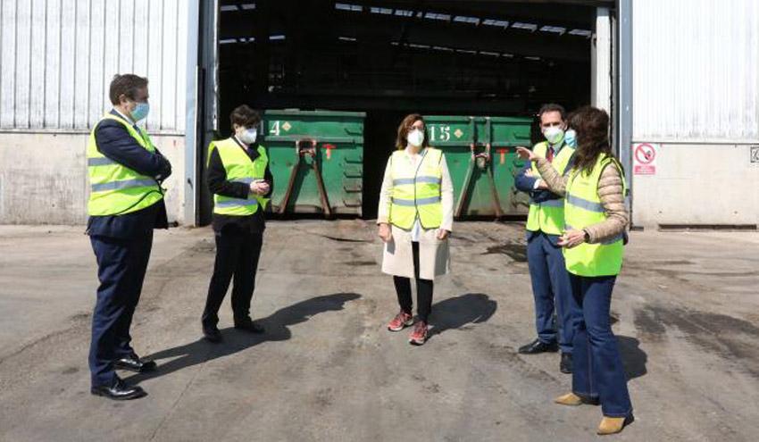 El Consorcio de Residuos de Palencia y ACCIONA firman el inicio del nuevo servicio de gestión de residuos