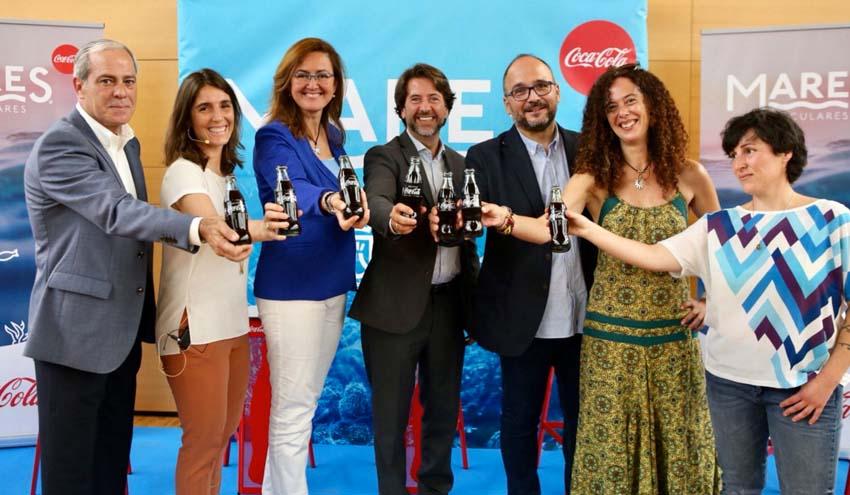 Coca-Cola pone en marcha en Canarias su proyecto de limpieza 'Mares Circulares'