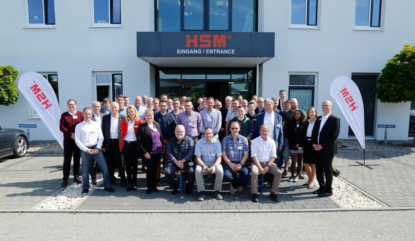 HSM muestra a sus clientes las últimas novedades en tecnología de procesamiento para el sector reciclaje