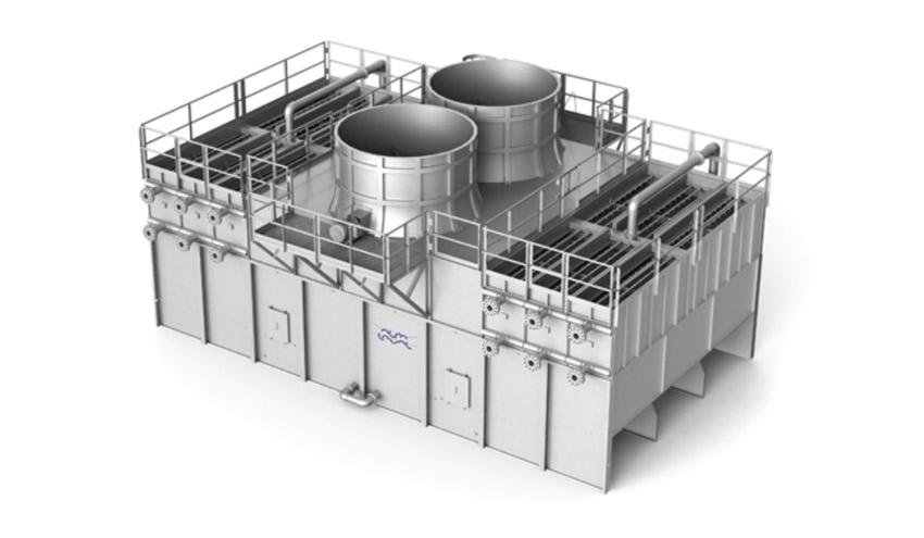 El WSAC Niagara de Alfa Laval proporciona una refrigeración eficiente y fiable para depuradoras urbanas