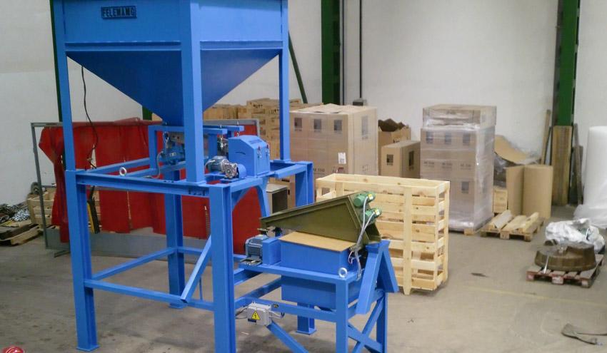 FELEMAMG desarrolla un novedoso separador magnético para la separación de materiales finos