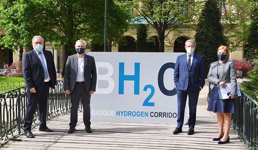 Gipuzkoa se une al Corredor Vasco del Hidrógeno con un proyecto de hidrógeno verde a partir de biogás