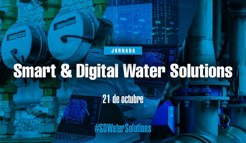 Menos de una semana para la Jornada Smart & Digital Water Solutions de RETEMA en SMAGUA 2021