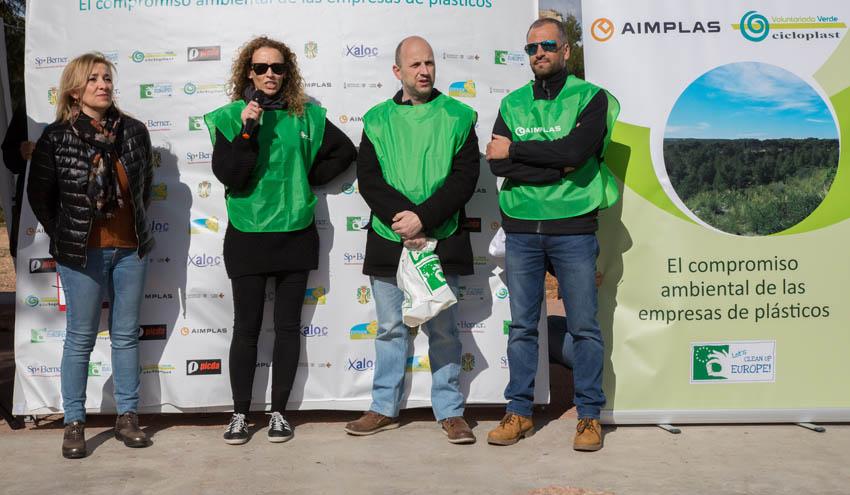 Cicloplast y AIMPLAS organizan una actividad de sensibilización ambiental en el Parque Natural Serra Calderona