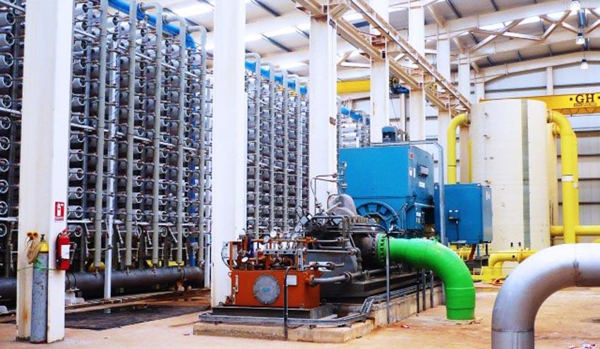 La planta desaladora de Ténès alcanza los 200 millones de metros cúbicos de agua potable producidos