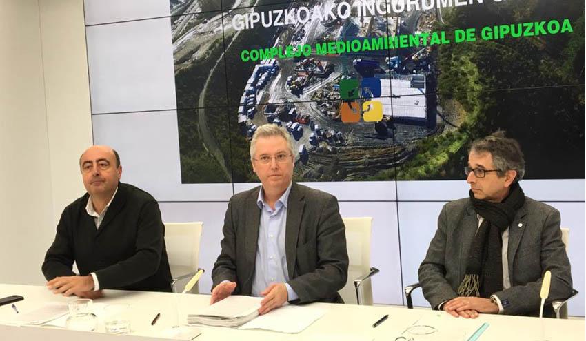 Aprobados los pliegos para la licitación de la segunda fase del Complejo Medioambiental de Gipuzkoa
