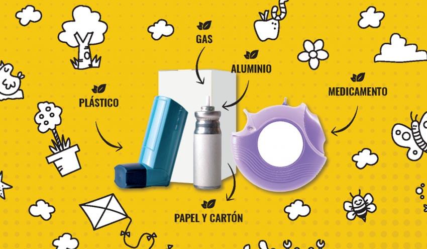"""SEPAR y SIGRE impulsan el reciclaje de inhaladores con la campaña """"Dale un respiro al planeta"""""""