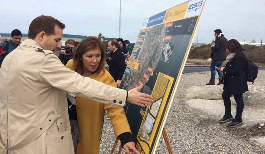 Concluye las obras del nuevo saneamiento de Ribeira en A Coruña
