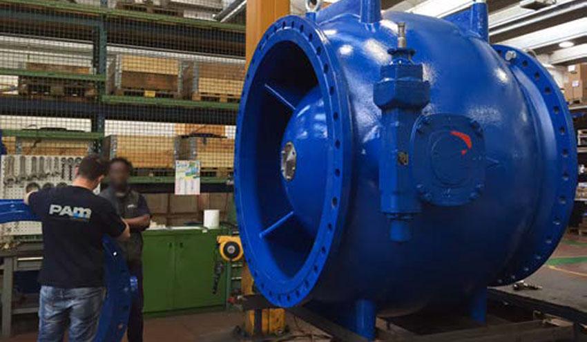Válvula anular Saint-Gobain PAM: protección asegurada en redes de abastecimiento y riego