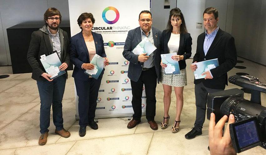 El Gobierno Vasco y la UPV/EHU lanzan el primer postgrado en España en Economía Circular Industrial