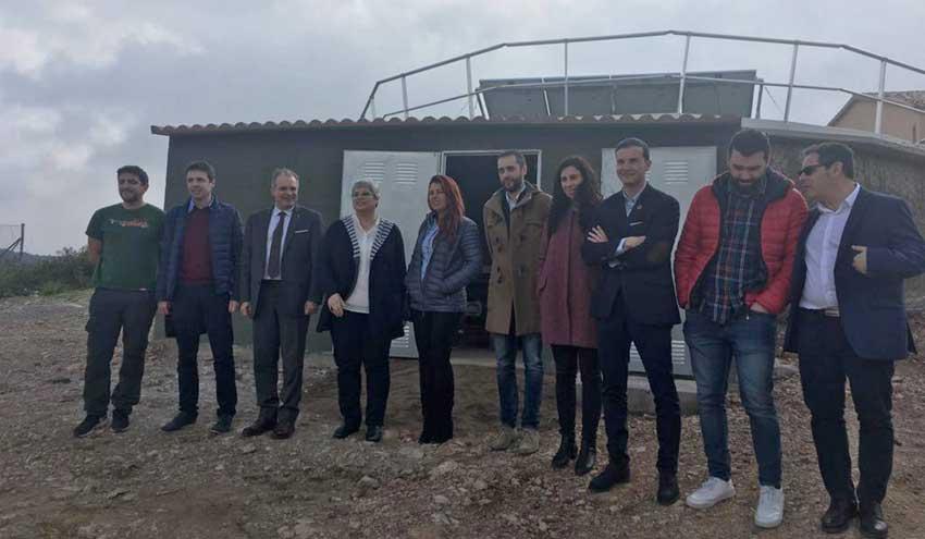 Inaugurada la mejora del suministro de agua a la urbanización Plana Novella de Olivella en Barcelona