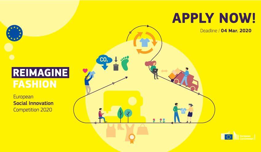 Moda sostenible: la Comisión Europea convoca el Concurso Europeo de Innovación Social 2020