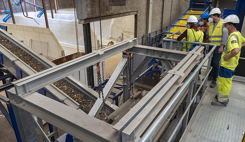 Ayudas por valor de 7 millones de euros para mejoras en plantas de tratamiento de residuos en Cataluña