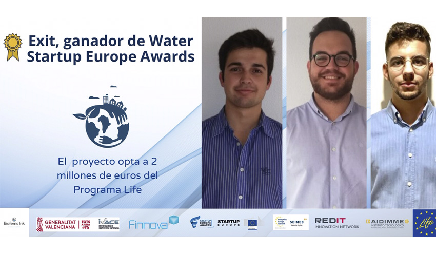 Premio a la tecnología para recuperación de microplásticos impulsada por Global Omnium y Bioferric de la UMH