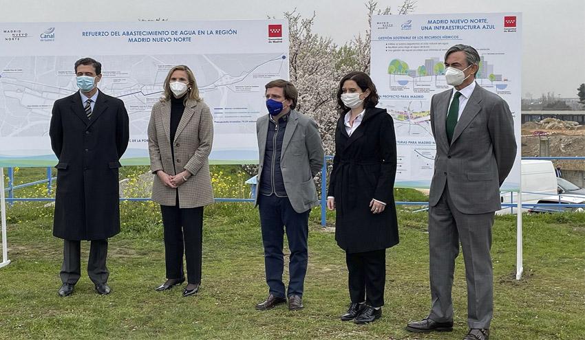 Canal de Isabel II reforzará los sistemas de abastecimiento para Madrid Nuevo Norte
