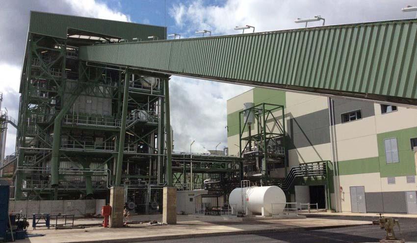 La planta de generación de energía con biomasa de Ence en Huelva inicia la última fase de pruebas