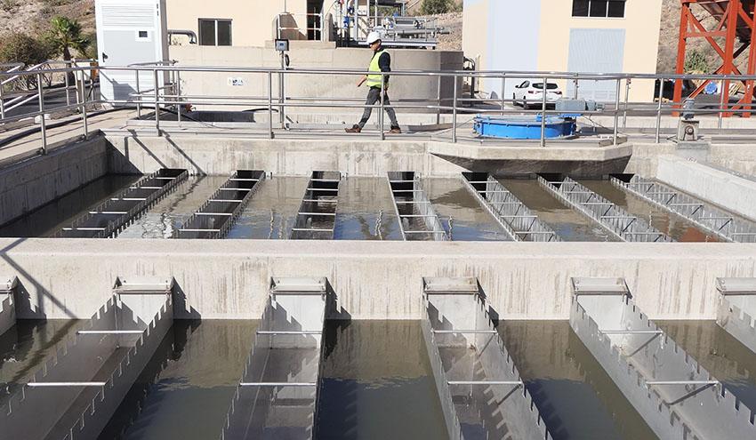 La generación de aguas residuales descienden un 49 % en Tenerife tras el cese de la actividad económica