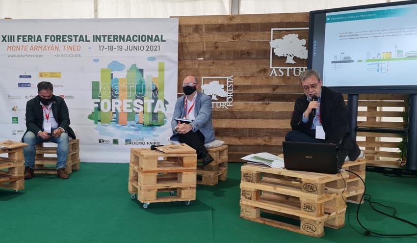 GRUPO HUNOSA promueve la creación del Polo Tecnológico y Empresarial de la Biomasa en Asturias