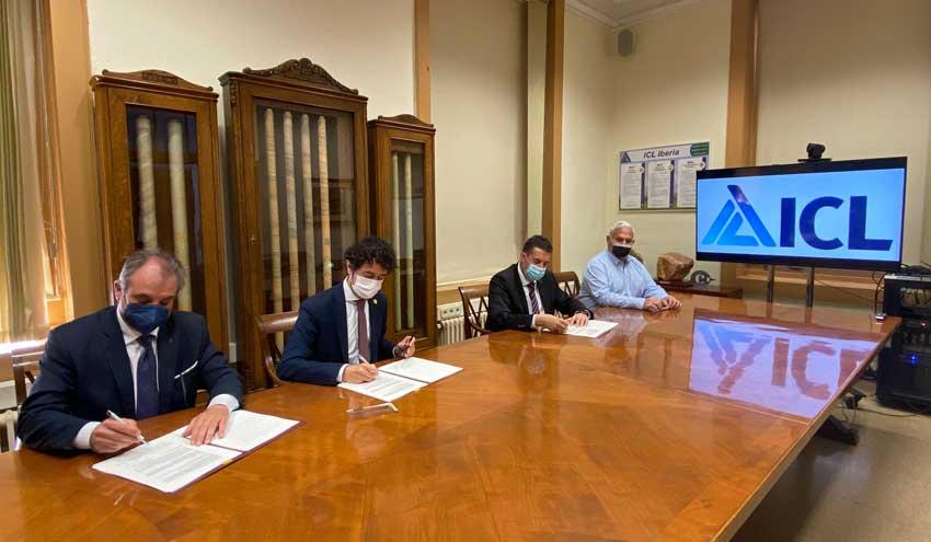 La ACA y ICL Iberia firman un convenio para financiar y construir un nuevo colector de salmueras