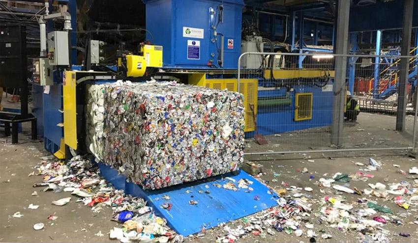 Nueva prensa Whitham Mills GB1111TR-3018 en Biffa