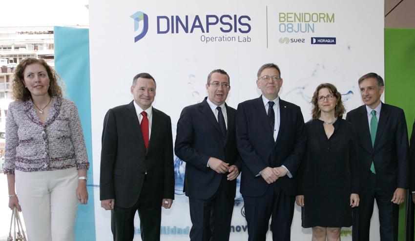 Dinapsis, un centro pionero de innovación vinculado a la gestión sostenible del agua y el territorio