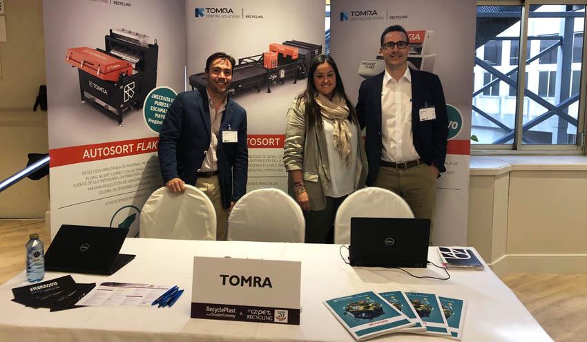 TOMRA Sorting Recycling, presente en la 20 edición de GEPET & Recycling celebrada en Madrid