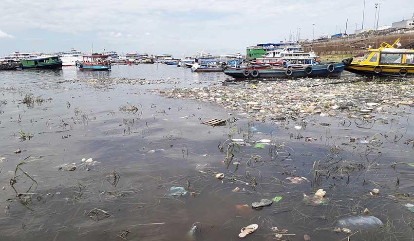 La contaminación amenaza la biodiversidad del río Amazonas
