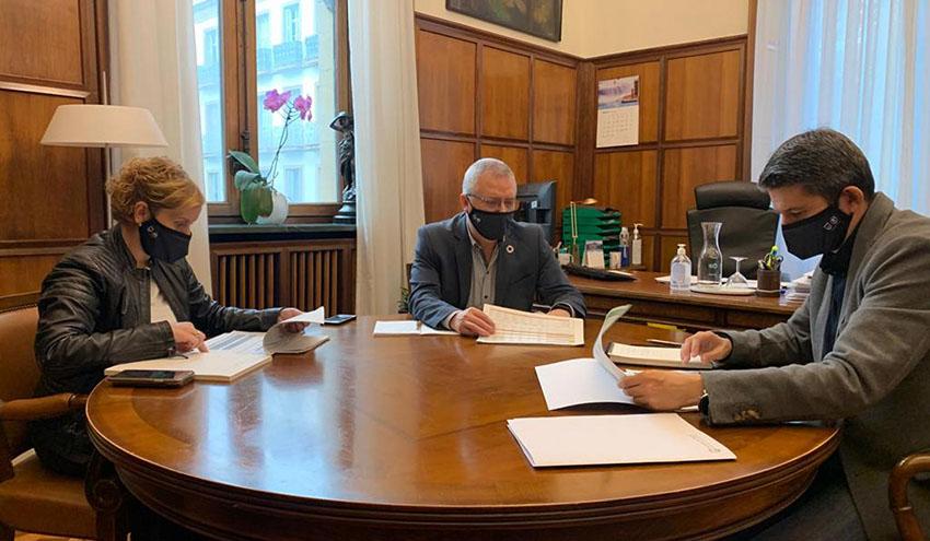 Enrique Ramos, nuevo director de Obras Hidráulicas de la Diputación Foral de Gipuzkoa