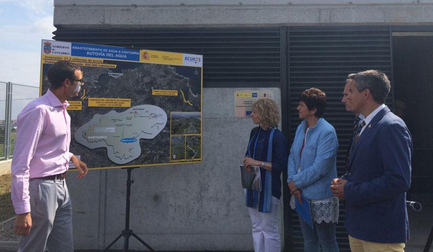 Finalizan las obras de la conexión de la Autovía del Agua con Bezana en Cantabria