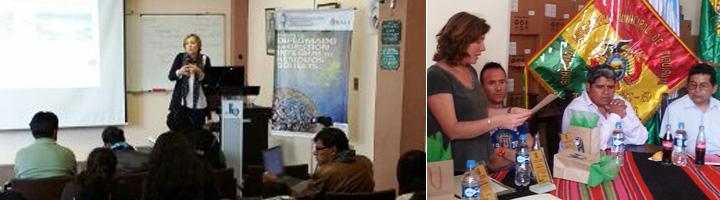 Técnicos de la ARC visitan los municipios de Tiquipaya y Vinto en Bolivia para intercambiar experiencias en materia de residuos