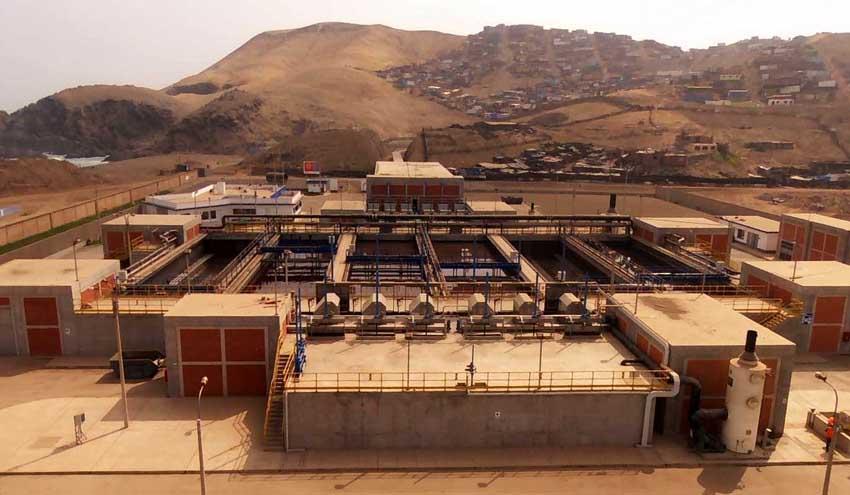 La depuradora de La Chira en Perú, construida y operada por ACCIONA, cumple 5 años