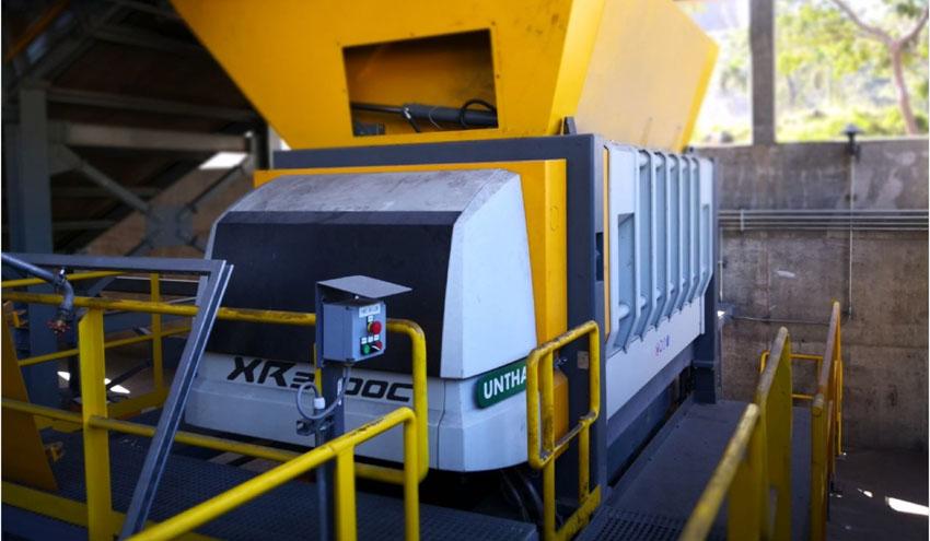 Producción de combustible derivado de residuos en Honduras con la trituradora UNTHA XR3000C