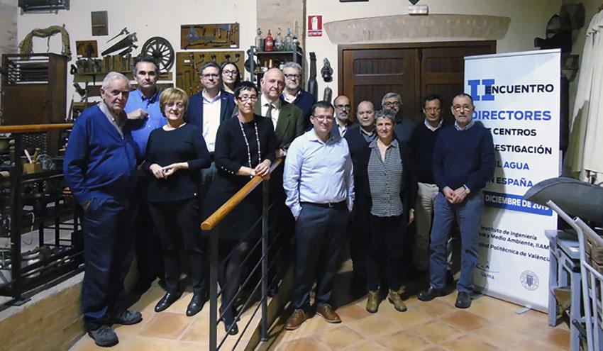 """Es necesario constituir una red o plataforma de la I+D+i del sector del agua en España"""
