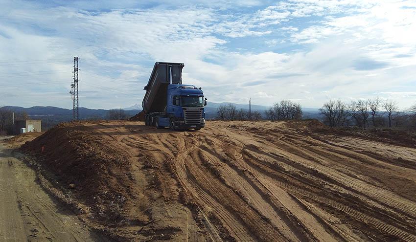 Se ponen en marcha las obras de clausura del depósito de fangos de la depuradora de Vic
