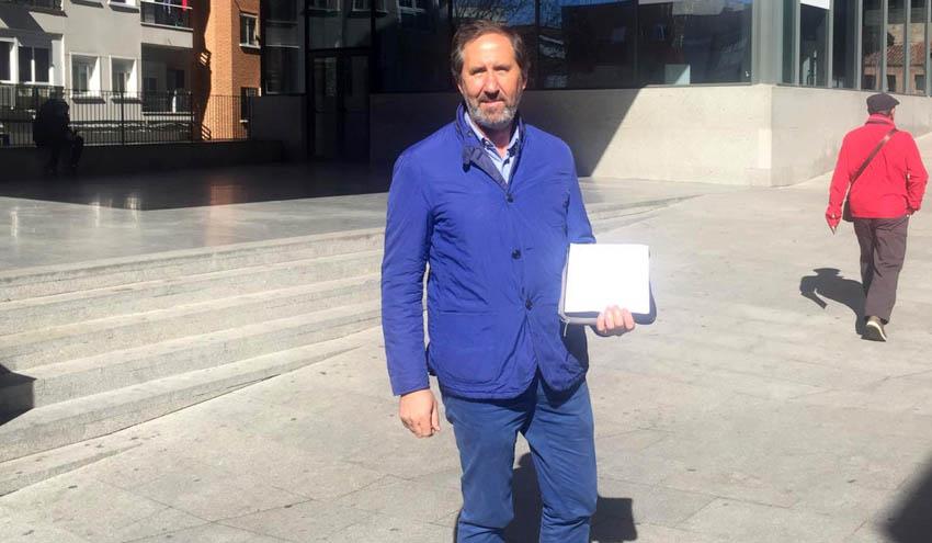 Rebi pone la primera piedra para su desembarco en Alcorcón con su sexta Red de Calor con Biomasa