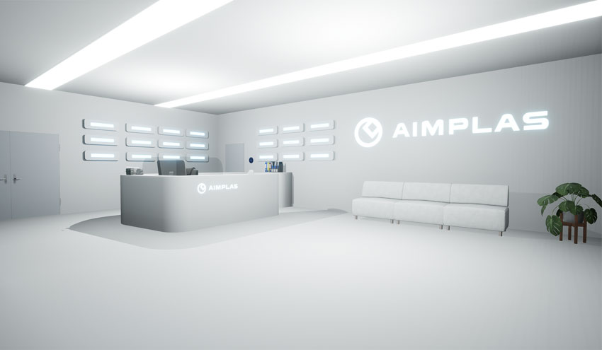 AIMPLAS presenta sus desarrollos a través de realidad virtual en la feria K