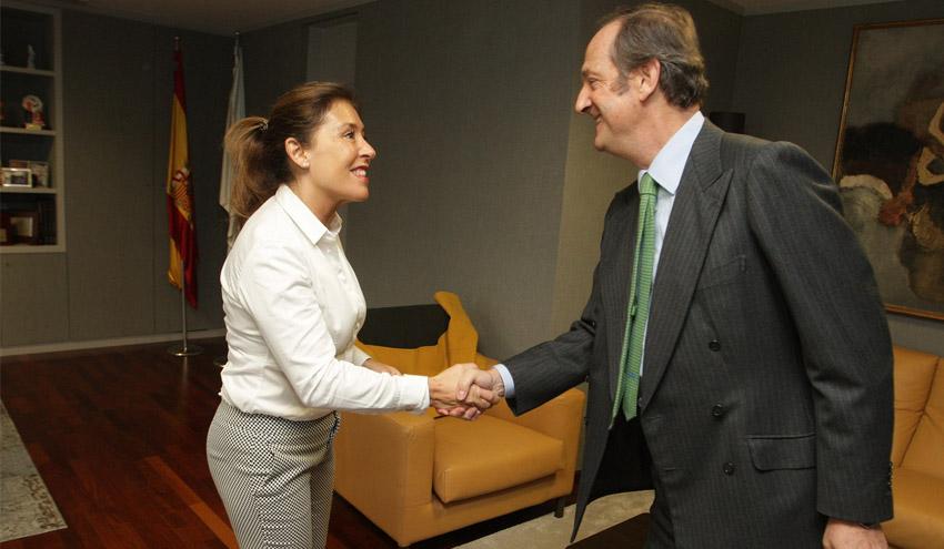 La Xunta y Ence concretan la colaboración para la ampliación y mejora de la EDAR de Placeres