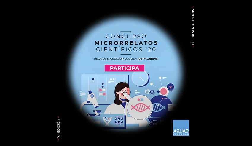 Fundación Aquae presenta la VII edición de su Concurso Microrrelatos Científicos