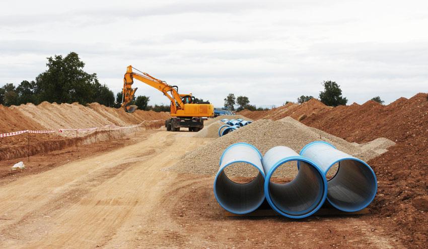 Segunda fase del proyecto de impulsión en los parajes La Sarda y El Terrero con tuberías de PVC-O
