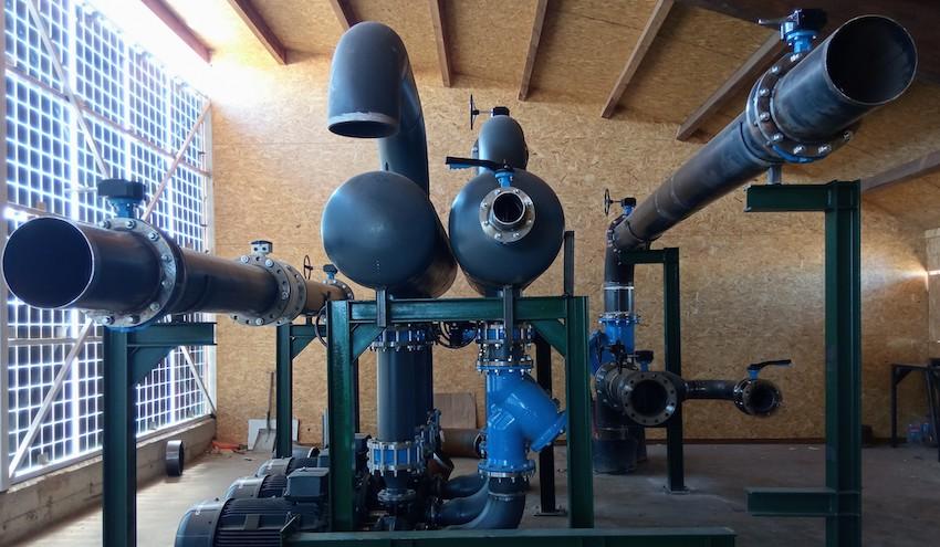 Rebi ultima las obras para hibridar la Red de Calor con Biomasa de Soria