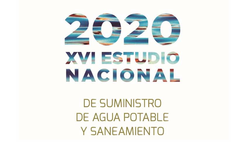 Resultados del XVI Estudio Nacional de Suministro de Agua Potable y Saneamiento en España 2020