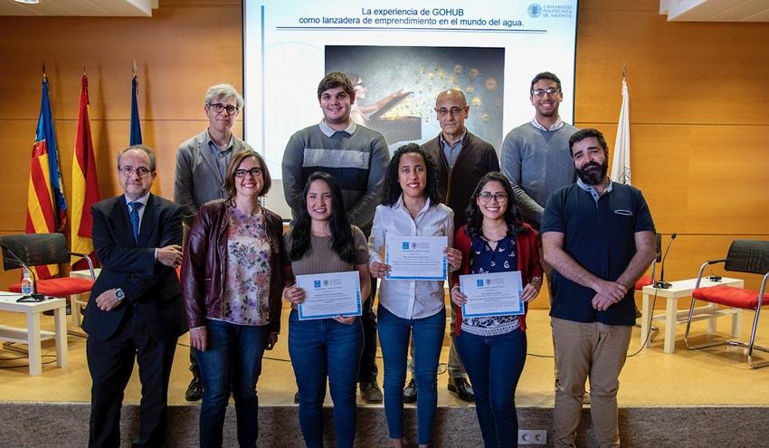 La Cátedra Aguas de Valencia, Global Omnium y GOHub juntos para mejorar el sector del agua