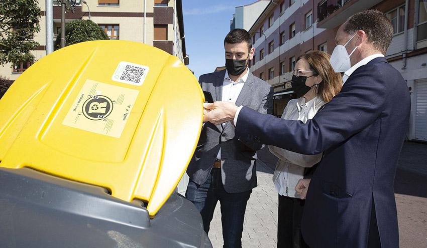 Llanera, primer municipio asturiano en apostar por el sistema de reciclaje con recompensa RECICLOS