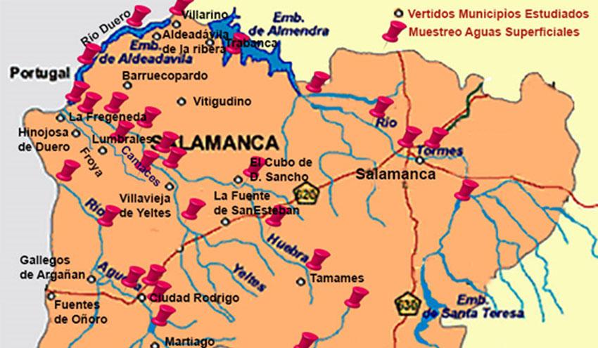 La Universidad De Salamanca Desarrolla Un Mapa De Calidad De Las