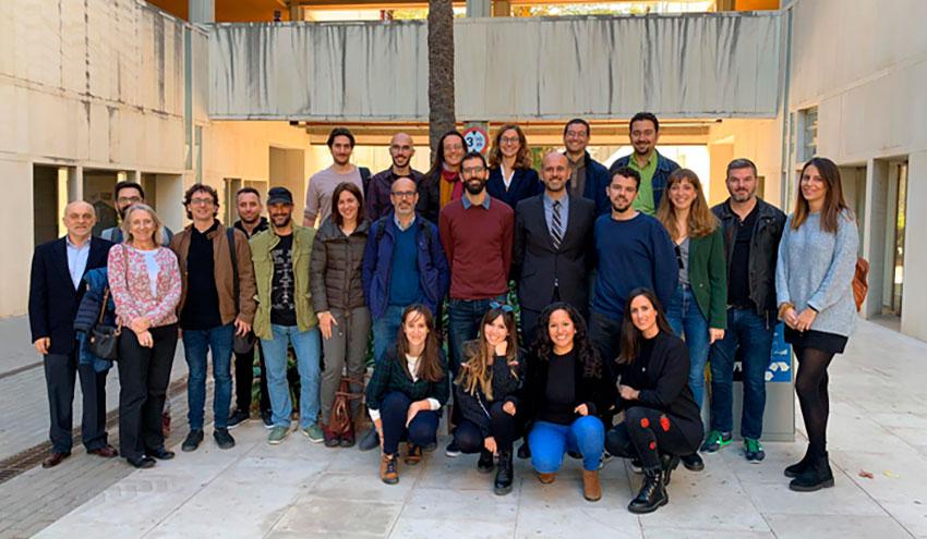 El grupo CALAGUA exhibe su potencial investigador en diferentes eventos internacionales
