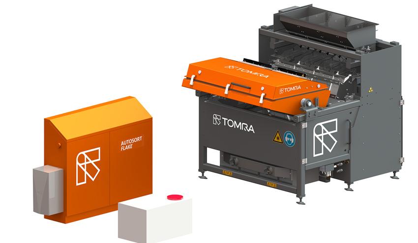 TOMRA Sorting Recycling lanza el revolucionario AUTOSORT FLAKE
