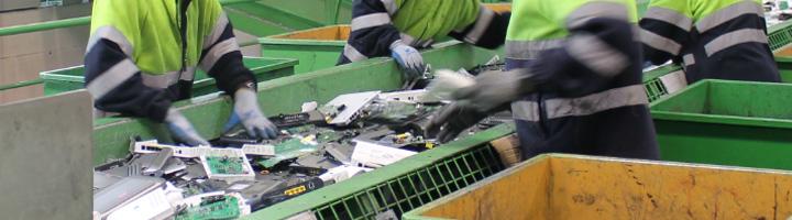 Recyclia pone en marcha un proyecto piloto de recogida de residuos electrónicos con los instaladores de telecomunicaciones