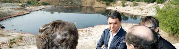 Comienzan los trabajos del mayor proceso de recuperación ambiental de una zona contaminada con aceites usados de España